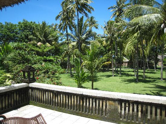 The Oberoi, Lombok: View from from garden villa
