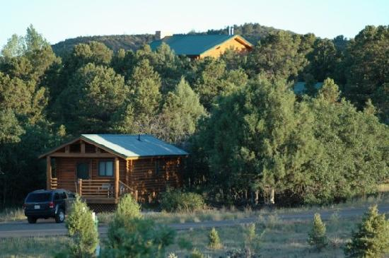 Zion Ponderosa Ranch Resort: View from our cabin