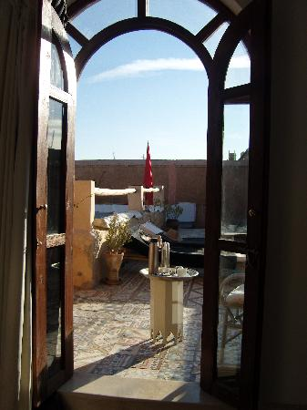 Riad Tizwa: Looking out from Room #2