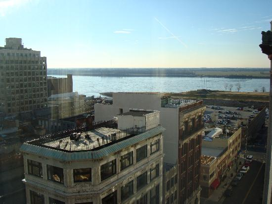 Residence Inn Memphis Downtown: View of the river