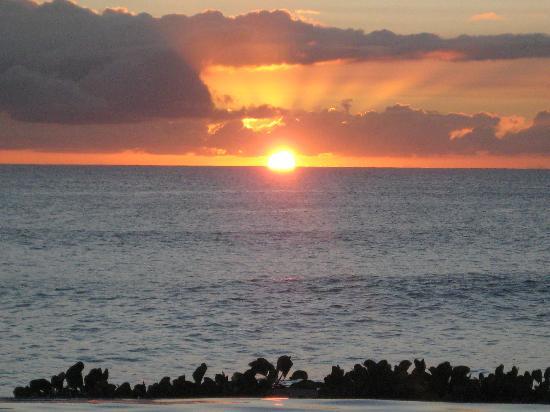Belmond La Samanna: the sunset