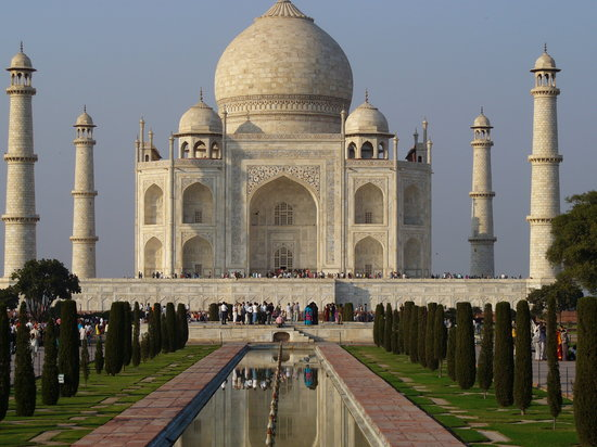 Agra, India: Taj mahal