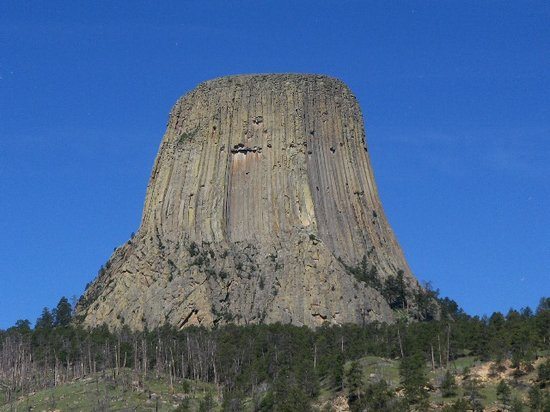 Devils Tower, WY: Very impressive view