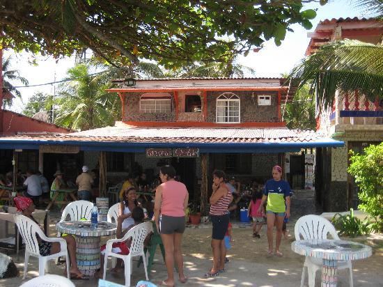 Isla Grande, Panamá: Frente del hotel