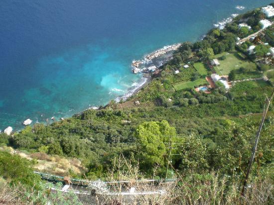 Sorrento, Olaszország: Capri