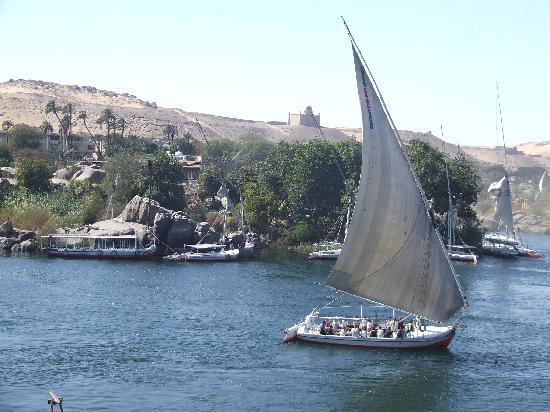 Egypte: Felucca on the Nile River - Aswan