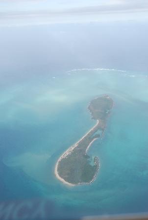 Quirimbas Archipelago, Moçambique: Vamizi Island air view