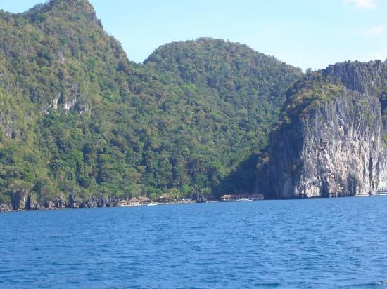 El Nido Resorts Lagen Island: Approaching Lagen Resort