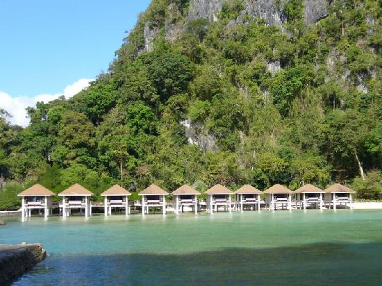 El Nido Resorts Lagen Island: Water Cottages at Lagen
