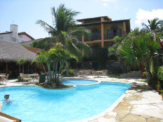 Manary Praia Hotel: Pool\back of hotel