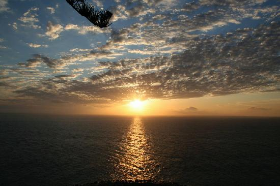 Estalagem Ponta do Sol: Sunset, view from the hotel