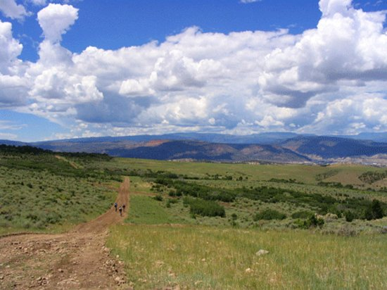 Eagle, CO : The Brush Creek Valley