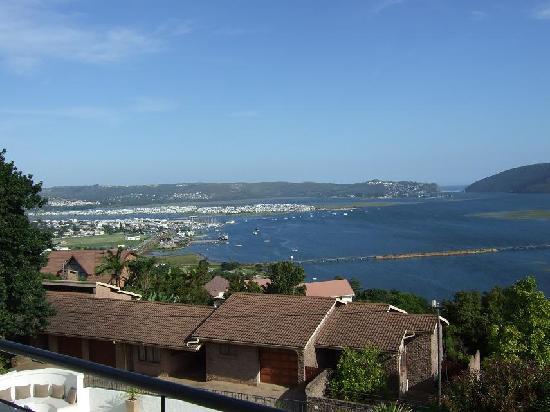 Villa Afrikana Guest Suites: Blick vom Balkon