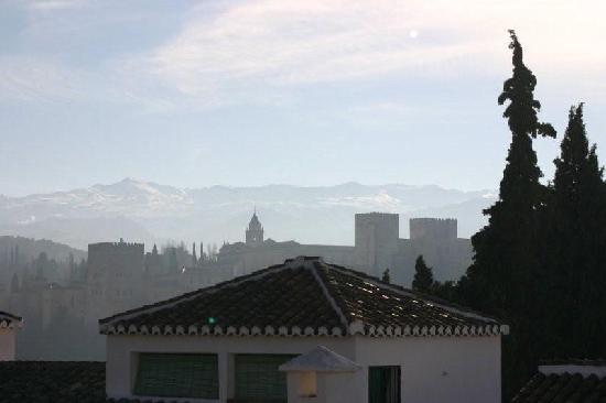 Santa Isabel la Real: la vue de la chambre