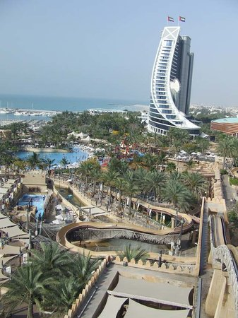 View of Wild Wadi Water Park