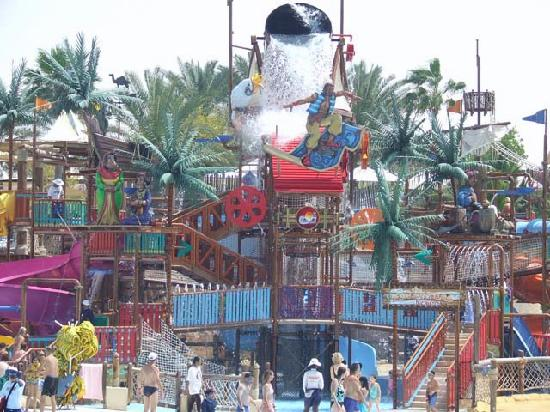 Wild Wadi Waterpark: Younger kids area