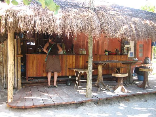 Cabanas La Luna : The cocina