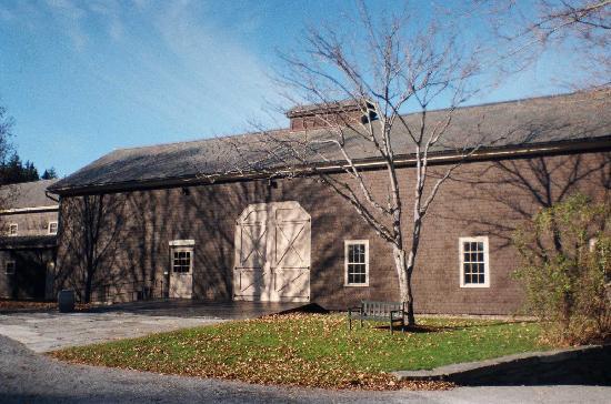 Marsh - Billings - Rockefeller National Historical Park: Barn