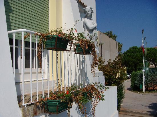 Park Hotel - Ravenna: jardinières non arrosées depuis ....