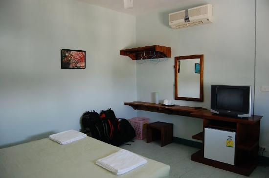 Dive Den: View of the room