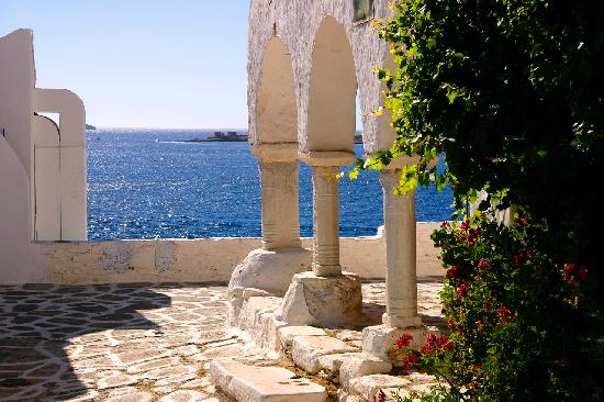 Parikia Town: Parika Town at Paros - Greece