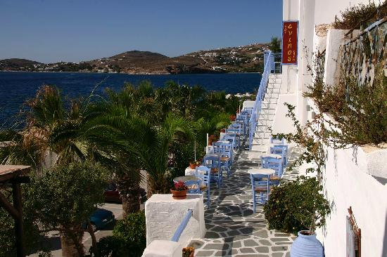 Parikia, Yunani: Taverna in Parika Town at Paros - Greece