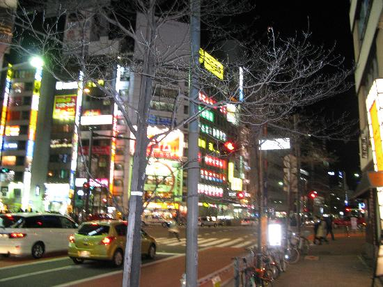 Hotel Sunroute Plaza Shinjuku: major intersection nearest hotel