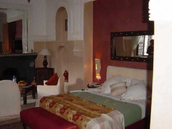 Le Riad Monceau: Bedroom of the