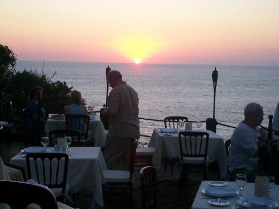 Sunset at Villa de la Selva