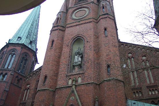 City Club Hotel: Church in Oldenburg