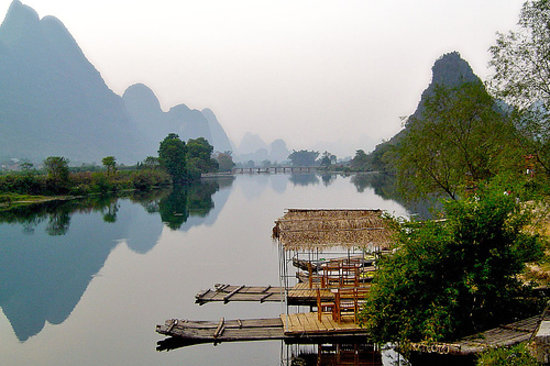 Округ Яншо, Китай: Yangshuo, China
