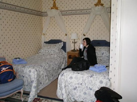 Craiglands House: Twin room.