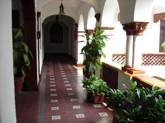 Hotel Colonial: pasillos