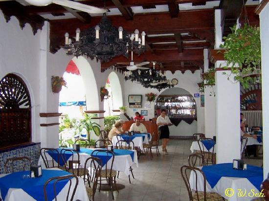 Hotel Colonial : restaurante