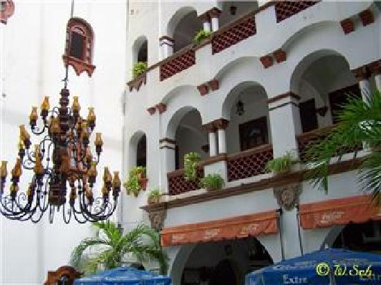 Hotel Colonial: vistas desde la terraza