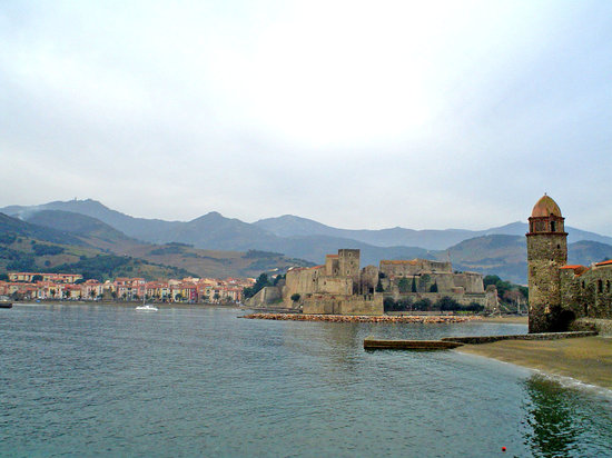 Collioure, France : Un poble de postal