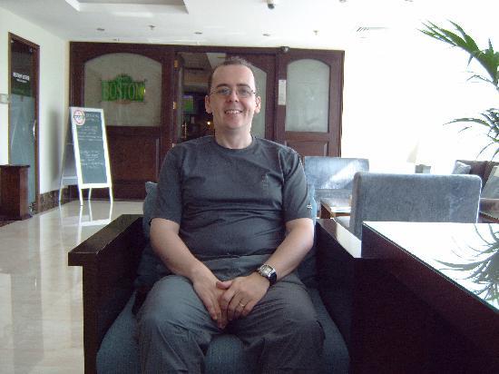 Jumeira Rotana: Hotel Lobby