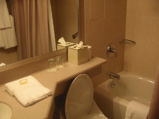 Ethan Allen Hotel: Very nice bathrooms!