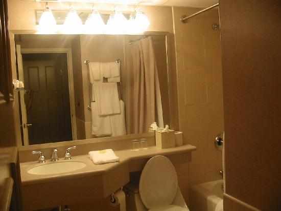 Ethan Allen Hotel: Another shot of bathroom.