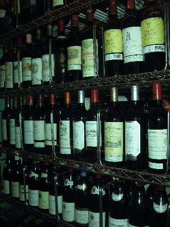 Hotel Le St-James: Some great wines  at the restaraunt (Petrus, Latour, etc)