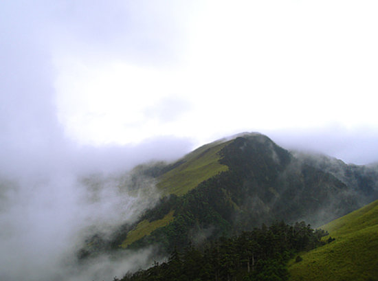 Shuili, Nantou: the summit of Yushan mountain