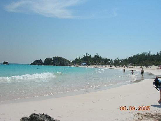 Southampton Parish, Bermuda: Horseshoe Bay beach