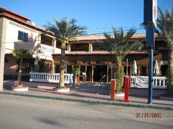 La Hacienda de la Langosta Roja: Front Entrance Of Hotel