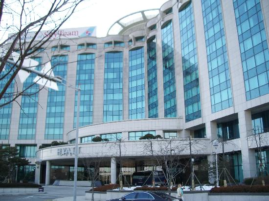 Grand Hyatt Incheon: Hotel facade