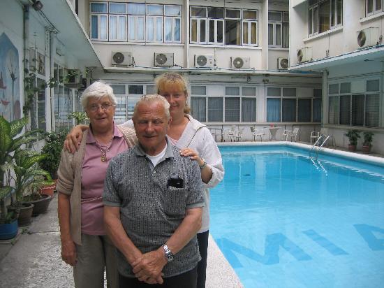 Miami Hotel: Peterson family