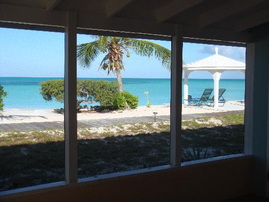 Cape Santa Maria Beach Resort & Villas: View from the porch (right)