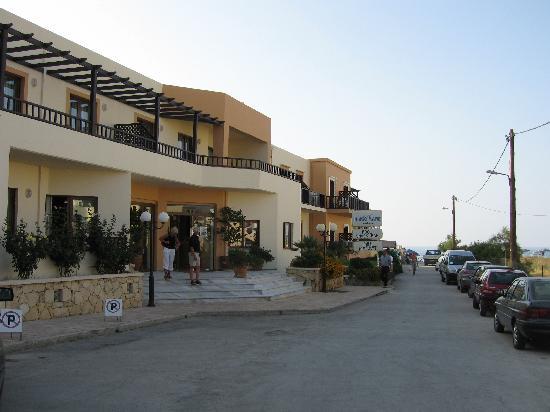 Indigo Mare: Main entrance