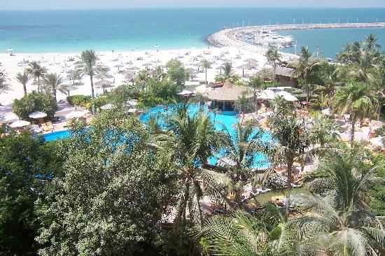 Jumeirah Beach Hotel: The View from my room
