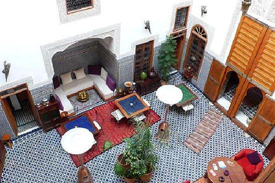 Riad La Cle de Fes : Reception lounge