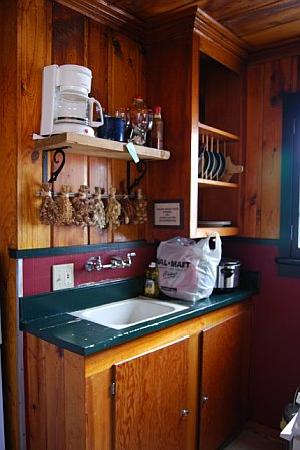 Apache Village Cabins: king studio suite